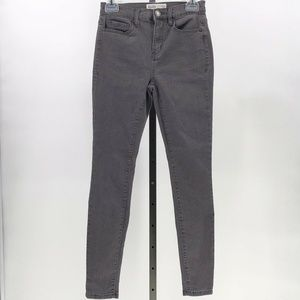 Mudd flx stretch high rise jean legging grey 3